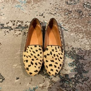 Madewell Teddy Loafers in Calf Hair